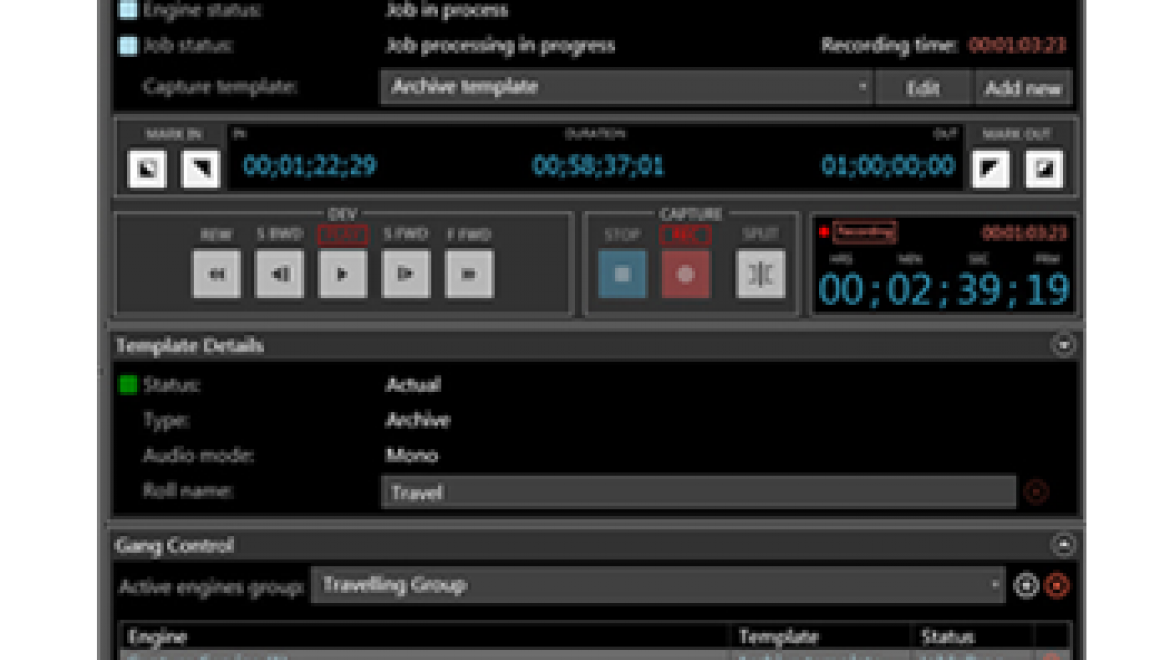 PROFESSIONAL MULTI-CHANNEL, MULTI-FORMAT REAL TIME INGEST